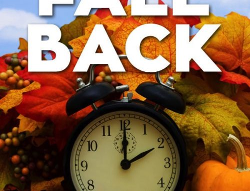 DAYLIGHT SAVINGS TIME… THIS WEEKEND!